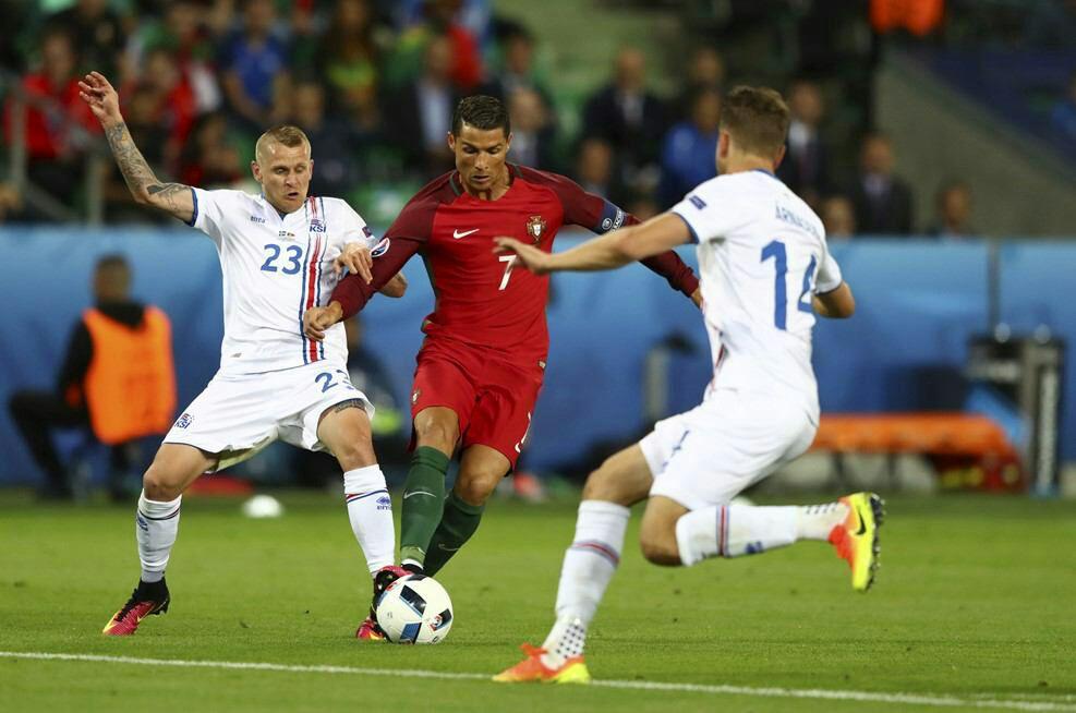 پرتغال 1 - ایسلند 1 +تصاویر