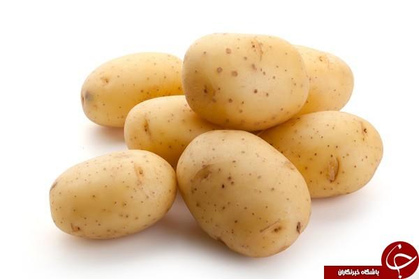 این قسمتها در سیب زمینی، گوجه فرنگی و بادمجان خوردنی نیستند!