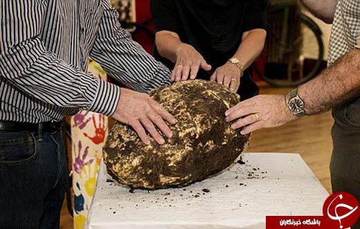 کره خوراکی 2 هزار ساله را ببینید/ سالم ماندن در یخچال طبیعی