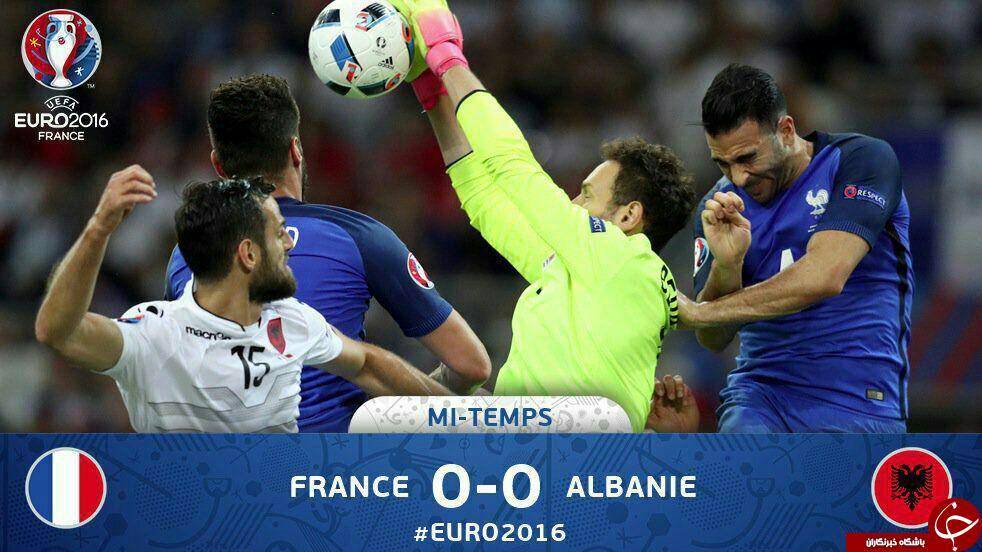 آلبانی 0 - 0 فرانسه