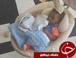 پدر سهلانگار نوزاد 6 ماههاش را کشتن داد+تصاویر