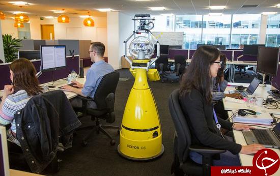 ربات کار آموز مدیریت اداره وارد شرکت شد + تصاویر