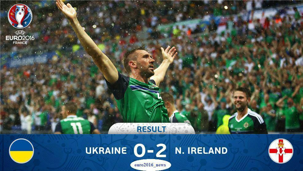 ایرلند شمالی 2 - اوکراین 0 / هوا بد، اوکراین بدتر! + گزارش تصویری