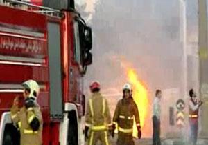 دانلود کلیپ انفجار خط لوله گاز در منطقه شهران