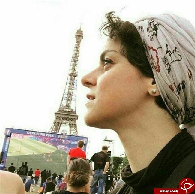 بازیگر سریال شهرزاد در یورو 2016 + عکس