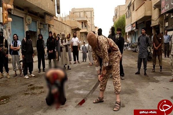 دستگیر ی داعشی که پرچم حضرت ابوالفضل العباس (ع) را آتش زده بود + عکس