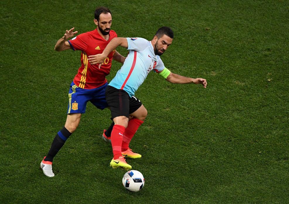 اسپانیا 0 - ترکیه 0