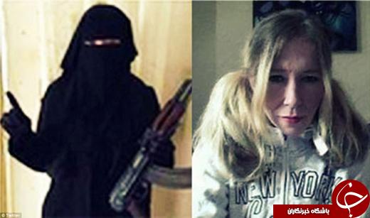 خواننده زن مشهور به داعش پیوست +عکس