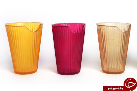 لیوانهای خوردنی که به محیط زیست آسیب نمیزنند + عکس
