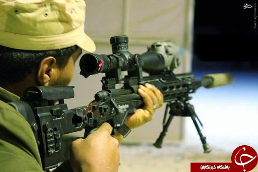 رویت اسلحه خاص آمریکایی در سوریه +عکس