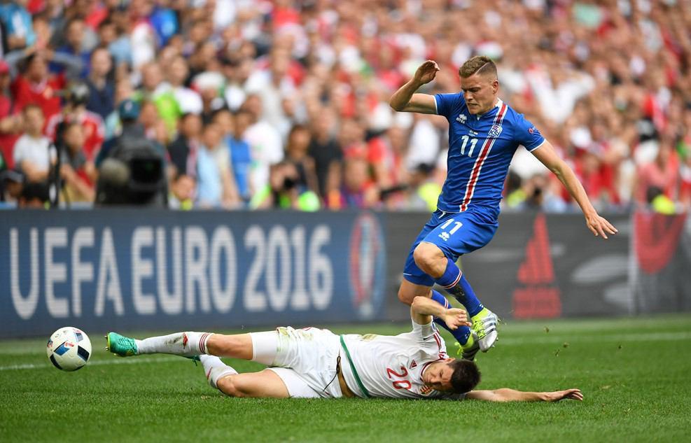 تساوی یک بر یک ایسلند و مجارستان + گزارش تصویری