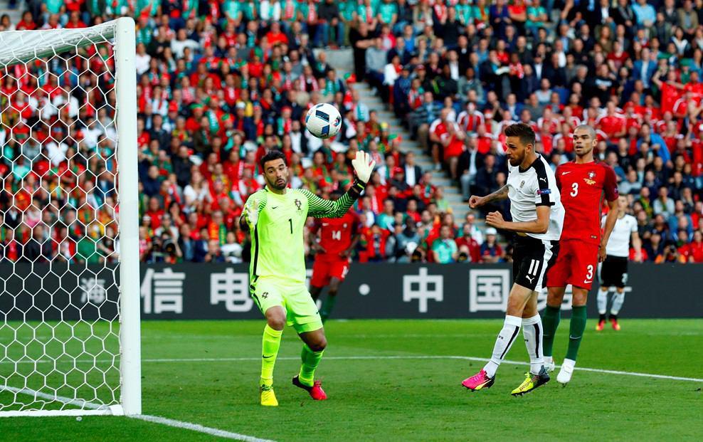 پرتغال 0 - اتریش 0 + گزارش تصویری