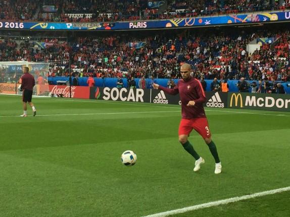 تساوی بدون گل پرتغال و اتریش در پایان نیمه نخست + گزارش تصویری