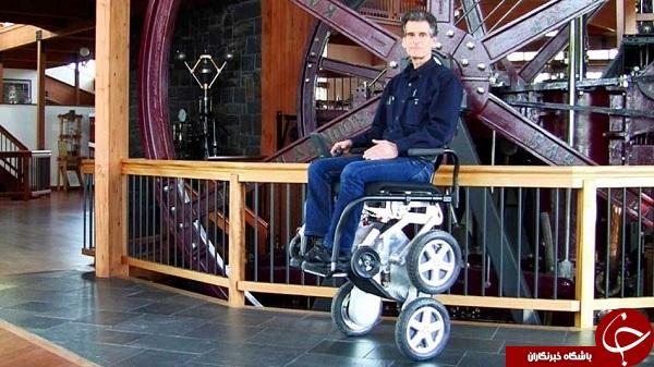 صندلی چرخدار iBot، متفاوت برای کاربران