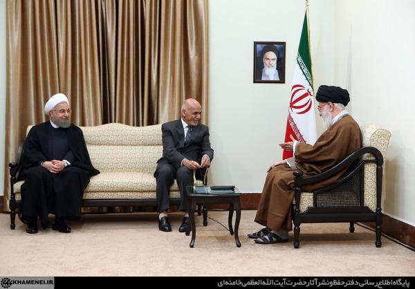 بیانات رهبر معظم انقلاب اسلامی در دیدار رئیسجمهوری افغانستان