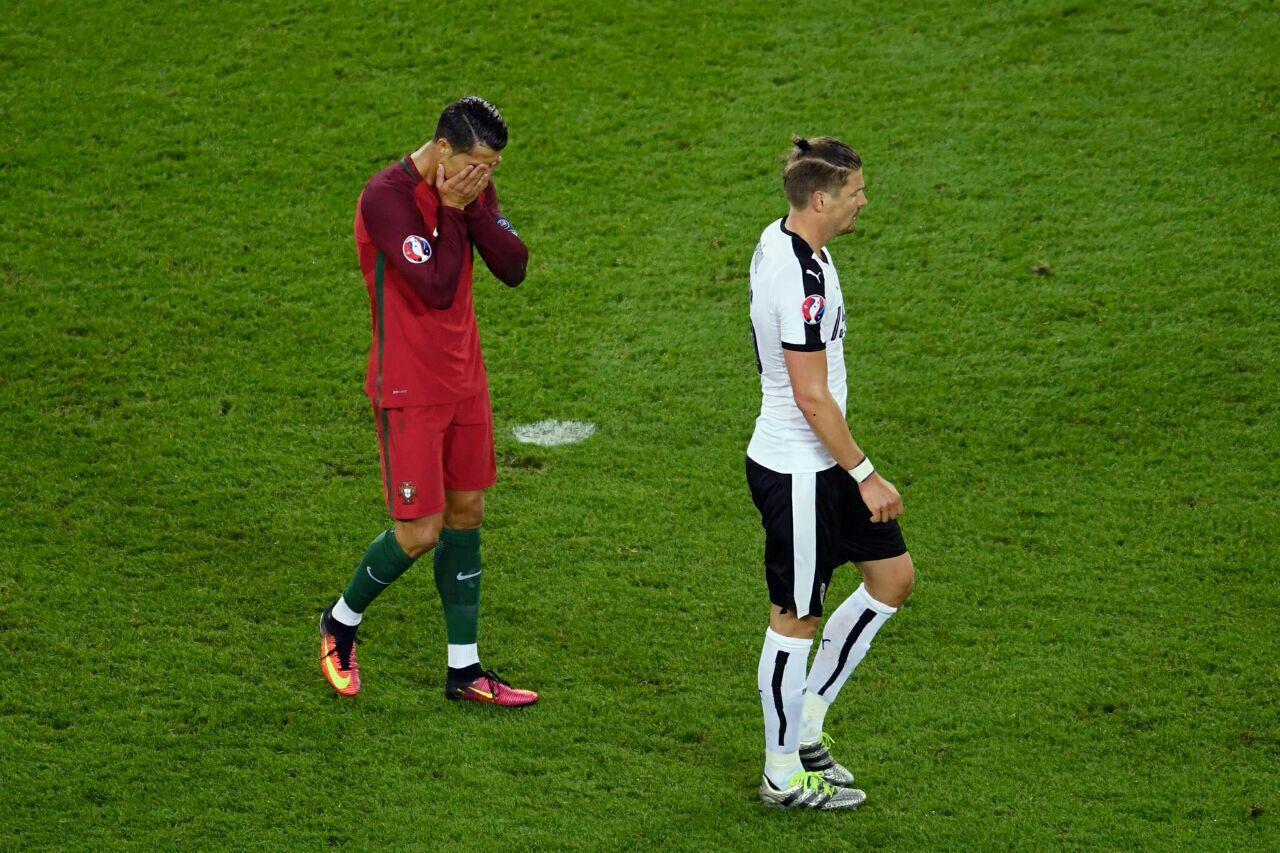 تساوی بدون گل پرتغال و اتریش + گزارش تصویری