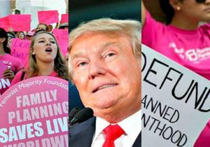 1500 زن آمریکایی، متقاضی برهنه شدن در مقابل ترامپ!
