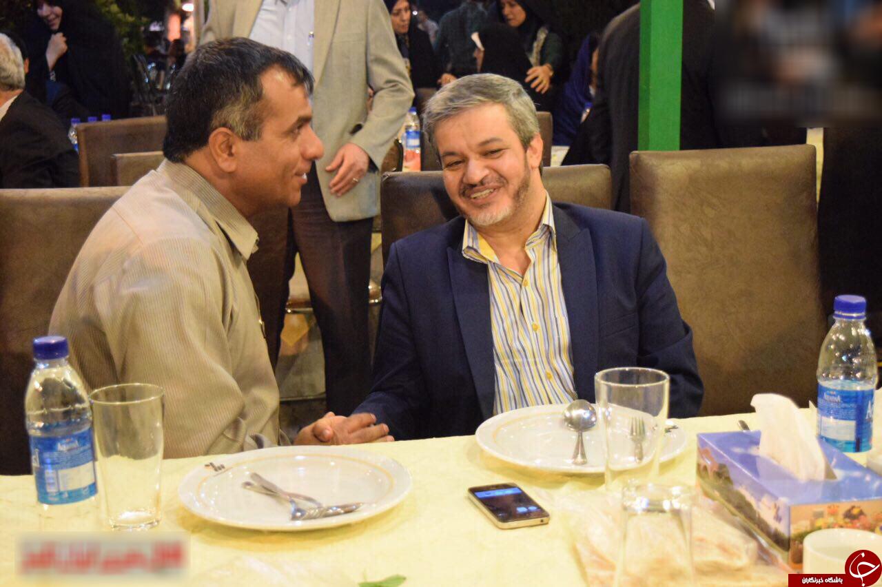 افطاری عارف + تصاویر