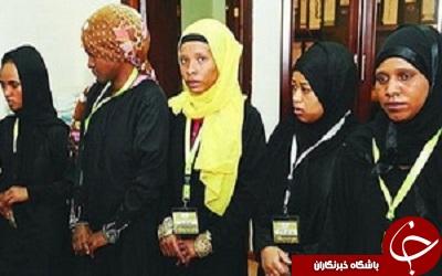 این زنان قبل از افطار کتک می خورند + عکس