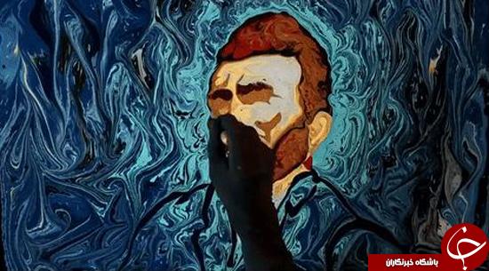 بازسازی آثار ون گوگ روی آب +تصاویر