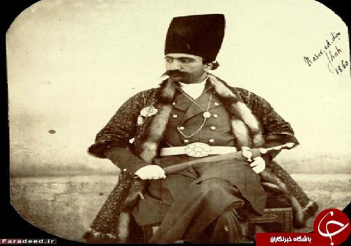 عکس/ ناصرالدین شاه در جوانی