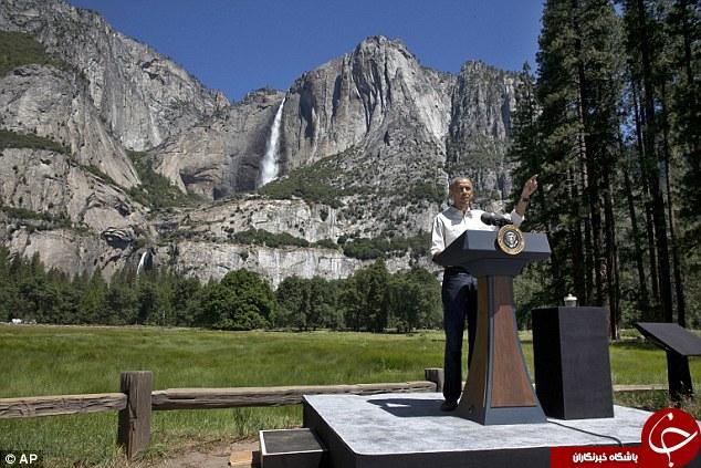 اوباما روز پدر را اینگونه گذراند +تصاویر