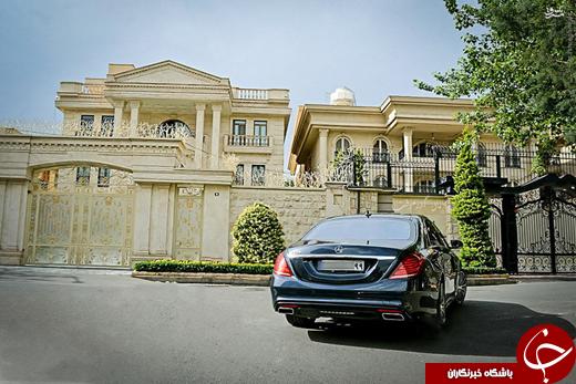 عکس/ مرسدس بنز ۳میلیارد تومانی در تهران