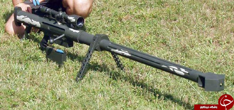 این سلاح مخوف قاتل تانک هاست + عکس و  فیلم
