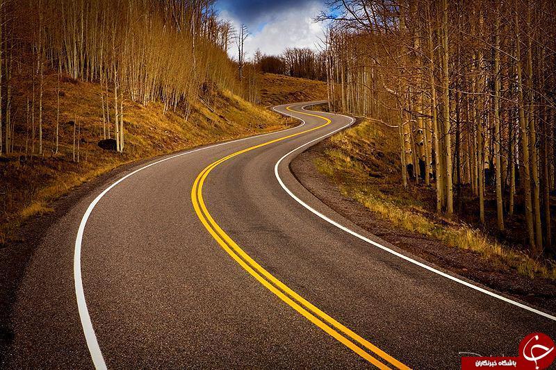 زیباترین جاده های دنیا + تصاویر