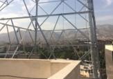 باشگاه خبرنگاران - نصب دکل در یک متری ساختمان مسکونی!!! + تصاویر
