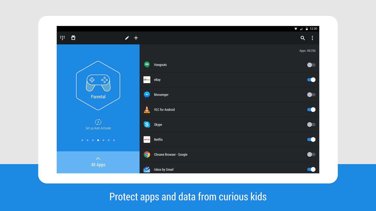 با این نرم افزار روی برنامه های موبایل خود رمز بگذارید