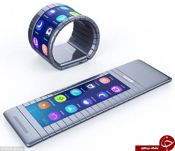 گوشیهای انعطافپذیر در راهند