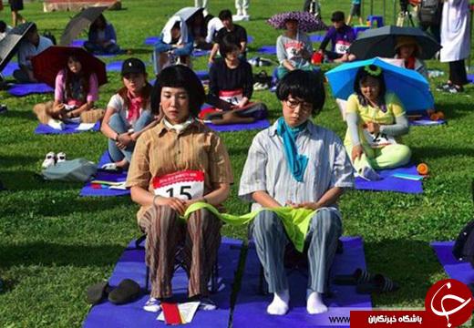 عکس/ مسابقهای متفاوت در کره جنوبی