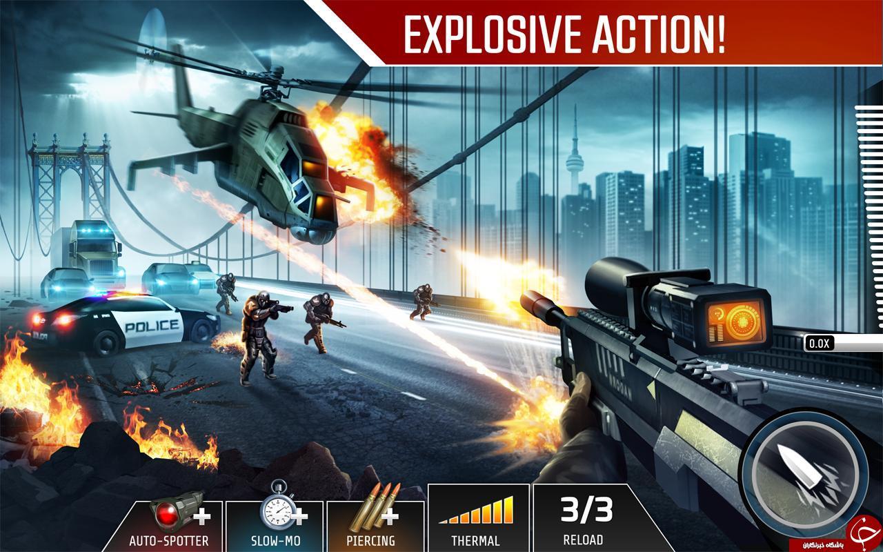 Kill Shot Bravo  بازی تک تیرانداز مهیج و پرطرفدار +دانلود