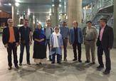 باشگاه خبرنگاران - حال و هوای فرودگاه مهرآباد ساعتی پیش از ورود اصغر فرهادی و شهاب حسینی + فیلم