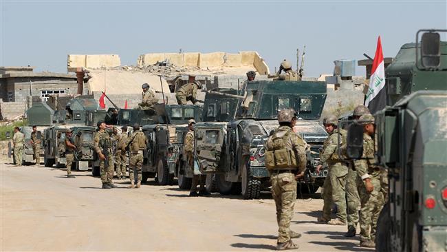 شهر فلوجه کاملا محاصره شد/ فرار عناصر داعش در پی پیشروی های ارتش