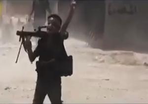 نبرد کوچکترین مدافع حرم عراقی در برابر تکفیری های داعش + فیلم
