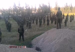 آموزش نظامی مدافعان حرم توسط شهید مصطفی صدر زاده + فیلم