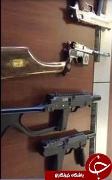 تصاویر داخل تلفن همراه رضا ضراب/ از نگه داشتن آخرین مدل اسلحههای طلا تا سفر با زیردریایی