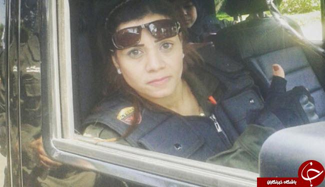 اولین دختر بادیگارد مصر+تصاویر