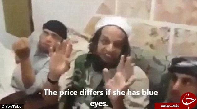 بازداشت داعشیِ فاسد که عاشقان دختران ایزدی چشم آبی است!+ تصاویر