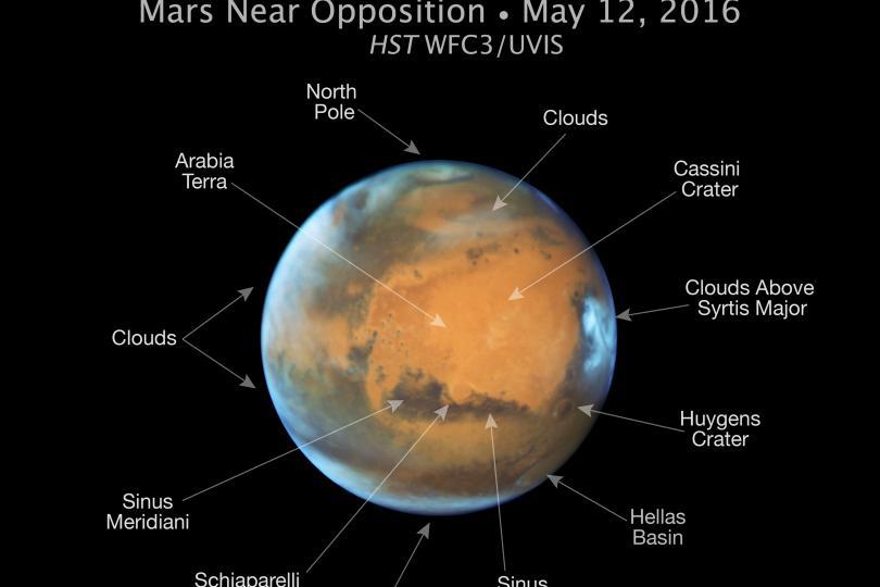 دوشنبه اتفاق میافتد: نزدیکترین فاصله میان مریخ و زمین در 11 سال اخیر+تصاویر