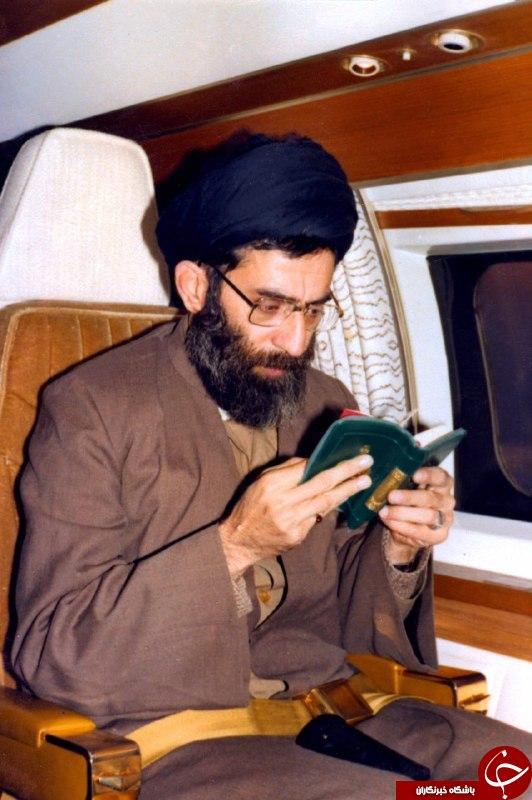 قرآن خواندن رهبر انقلاب