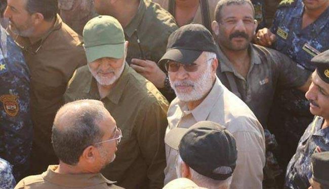 فرمانده عراقی: برادر عزیزمان، سردار سلیمانی از ابتدای جنگ با داعش در کنار ما بود