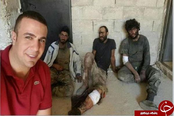 // در حال کار// لحظه به اسارت گرفتن تک تیرانداز داعشی + فیلم و عکس