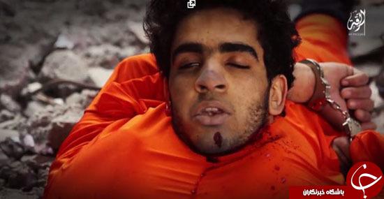 داعش دو جاسوس را به طرز فجیعی سلاخی کرد+تصاویر (18+)