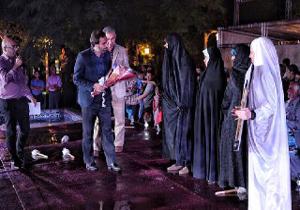 باشگاه خبرنگاران -نمایش «دریادلان» با تجلیل از خانواده شهید مدافع حرم «عبدالله باقری» آغاز شد