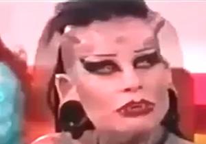 زشتترین زن شیطان پرست دنیا + فیلم (١٨+)