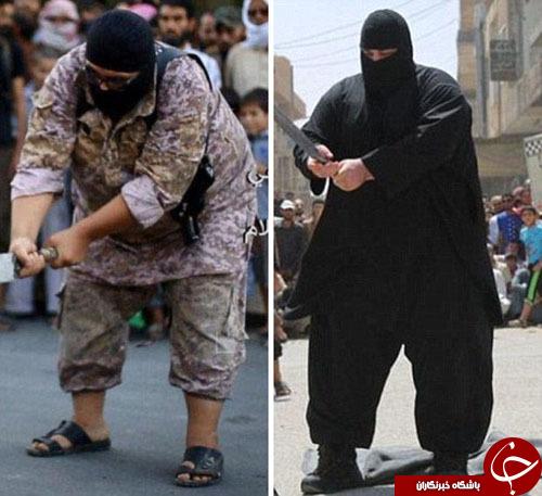 رونمایی از جانشین بولدوزر داعش/ تروریست خپل، با شمشیر به قربانی حمله میکند+ تصاویر