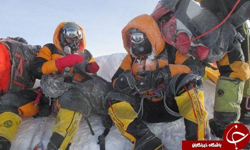 دروغگویی زوج هندی درباره صعود به اورست+ تصاویر